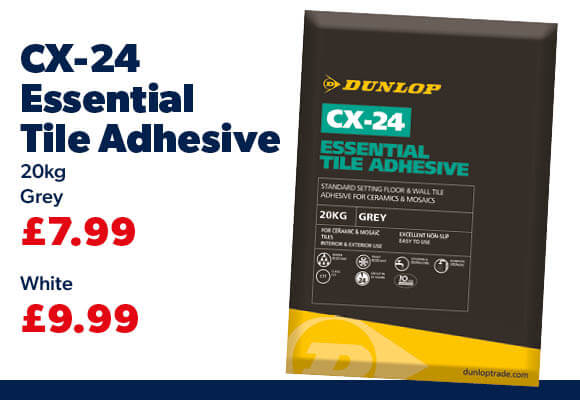 Dunlop CX-24 Essential Tile Adhesive