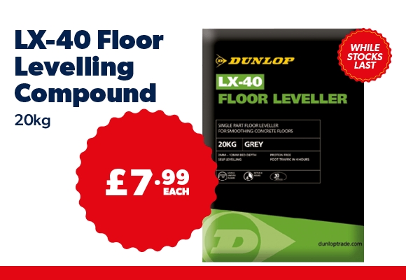 LX-40 Floor Levelling Compound