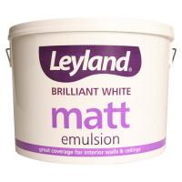 Leyland Matt Emulsion White 10ltr