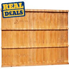 Closeboard Fence Panel 1829 x 1829mm (6' x 6')