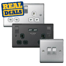 All Decorative Metal Switches & Sockets