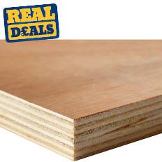 General Purpose Plywood 2440 x 1220 x 18mm