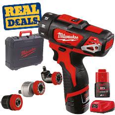 Milwaukee 4 in 1 Multi Head Drill