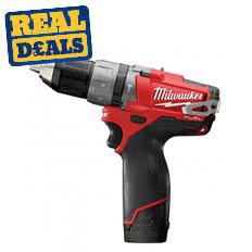 Milwaukee 12V Brushless Compact Combi Drill