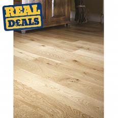 K2 Solid Oak Flooring 18 x 125mm 2.2M²